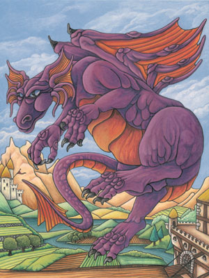 Purple Dragon - The Sage