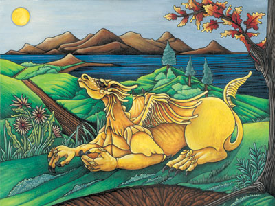 Yellow Dragon -The Activator by Tricia McLean